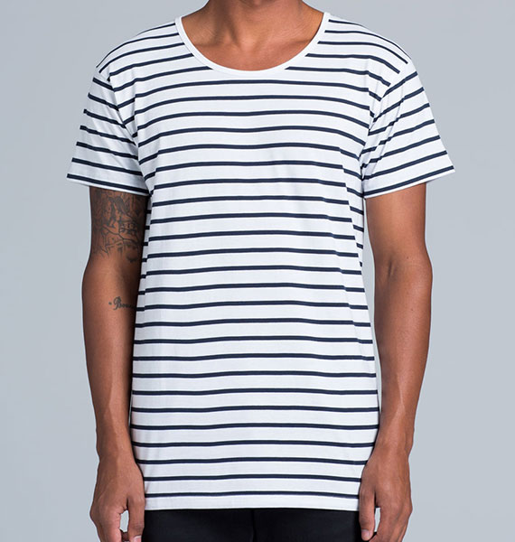 Mens Wire Stripe Tee