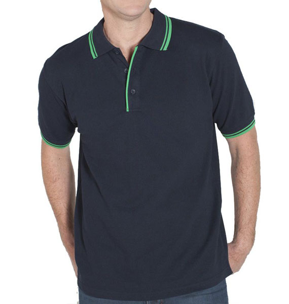Mens Podium Contrast Polo