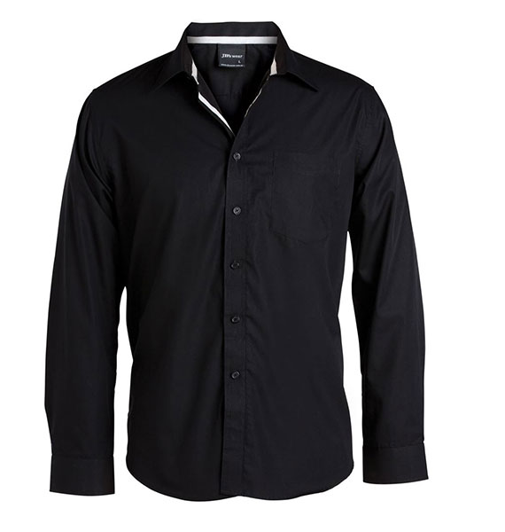 L/s Contrast Placket