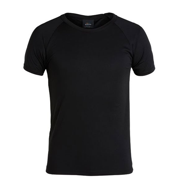 Mens Podium Raglan Poly Tee