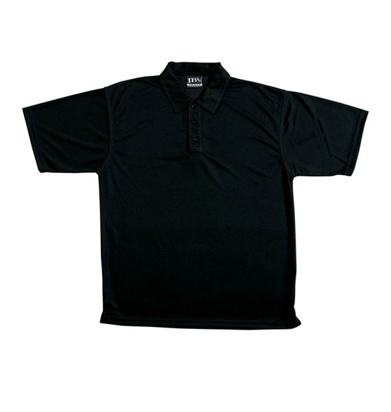 Mens Podium S/s Poly Polo
