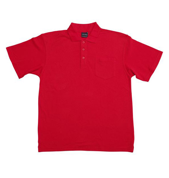 Mens Pocket Polo
