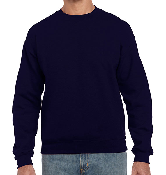 Gildan Mens Heavy Blend Crew Neck Sweatshirt