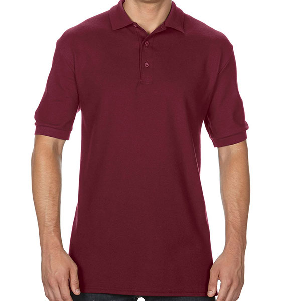 Gildan Mens Premium Cotton Double Pique Sport Shirt