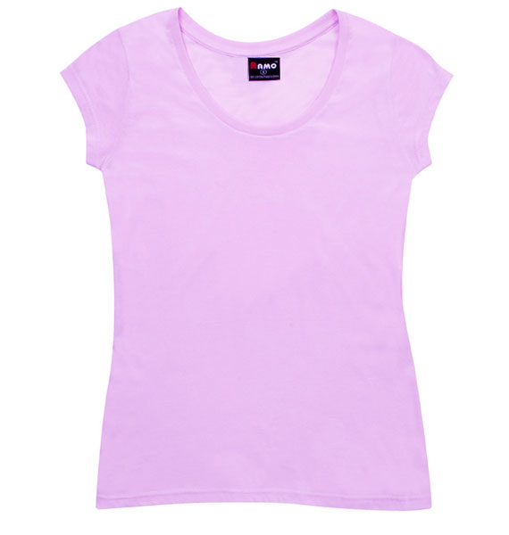 Ladies Jersey Scoop Neck Tee